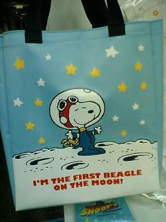 Snoopyastronautbag